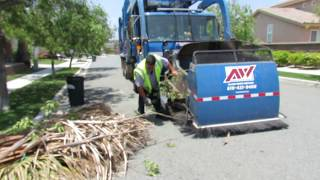 """Republic Services - Saturday Memorial Day Pick Up 2013 (Part 2) """"The Load of Yard Waste"""""""