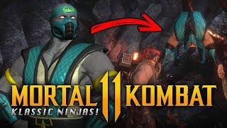 MORTAL KOMBAT 11   Secret Krypt Klassic Ninjas! (Tremor, Rain, Chameleon, Khrome, Noob & Smoke)