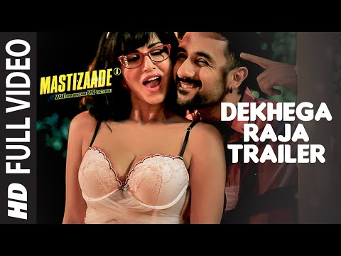 Download Dekhega Raja Trailer FULL VIDEO SONG | Mastizaade | Sunny Leone, Tusshar Kapoor, Vir Das | T-Series HD Mp4 3GP Video and MP3