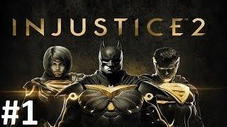 """Injustice 2: Legendary Edition"" #1 Upadek bóstwa (Batman)"