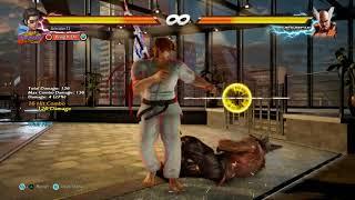 Tekken 7 S2 Hwoarang Combo Act 7 Crazy Wall Bound Combos+Extras