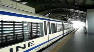 Bangkok Suvarnabhumi Airport Rail Link SA City Line Lat Krabang Station