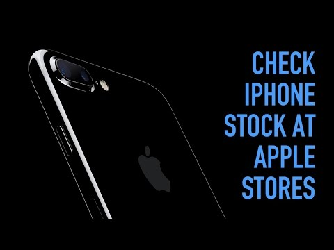 Check iPhone 7 Stock at Apple Stores