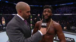 UFC Финикс: Алджэмейн Стерлинг - Слова после боя