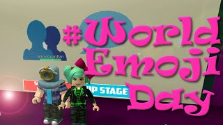 #WorldEmojiDay | ROBLOX | Guess the Emoji | MicroGuardian | SallyGreenGamer