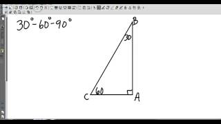 Geometry 8 3 Special Right Triangles