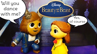 Mystery Minis ! Toys and Dolls Fun with Blind Bag Boxes from Beauty & the Beast Live Action Movie