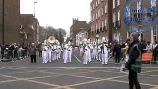 Preview Picture Of Video Limerick International Band Parade Sun 15th March 2015