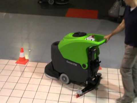 IPC CT40 Scrubber Dryer