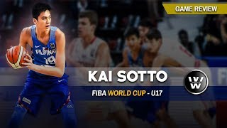 Kai Sotto Game Review 2018 | FIBA World Cup U17 Edition