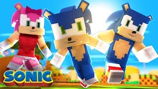 Minecraft: WHO'S YOUR FAMILY? - A FAMÍLIA DO SONIC!