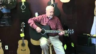 Northwest Guitars: Rainsong WS1000 Concert model Studio series