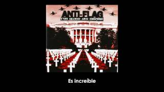 Anti-Flag - War Sucks Let's Party! (Letra Sub Español)
