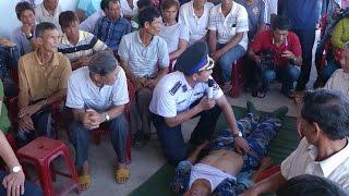 Quảng Ngãi: Huấn luyện kỹ năng cứu nạn trên biển cho ngư dân Lý Sơn