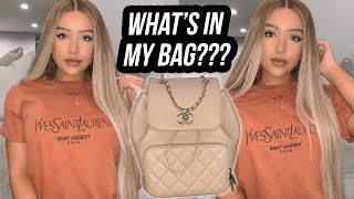 WHAT'S IN MY BAG??? | Amanda Ensing
