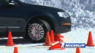 How to Stop a Car Without ABS   Michelin® Winter Driving Academy