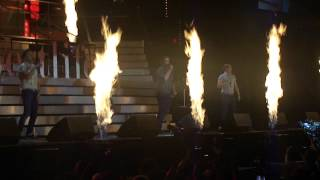 WESTLIFE - 'Party Rock Anthem' & 'Sex On Fire' Medley - BELFAST 30th May 2012