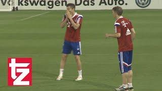 Lewandowski Lacht Schweini Aus - FC Bayern In Doha: Highlights Aus Den Letzten Jahren