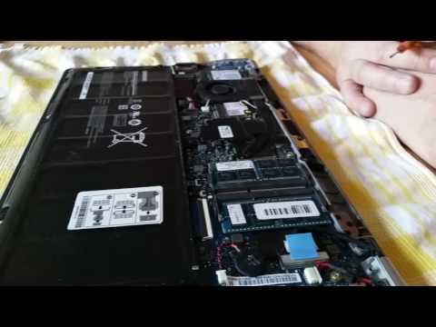 Samsung Serie 9 NP900x4d RAM Arbeitsspeicher Festplatte mSATA SSD Display wechseln
