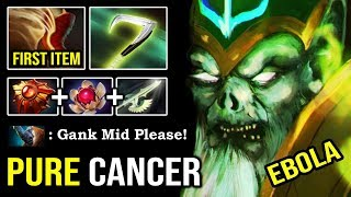 GLOBAL GANKER Necrophos First Item Boots 100% Deleted MID Magnus with Unkillable META 8500 MMR DotA2