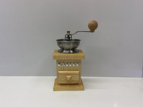 Kaffeemühle mit der Bandsäge selbst bauen! Diy