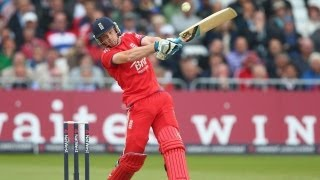 Buttler boosts England - highlights from 3rd ODI - England innings