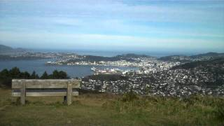 preview picture of video 'View to Wellington from Mount Kaukau, New Zealand'