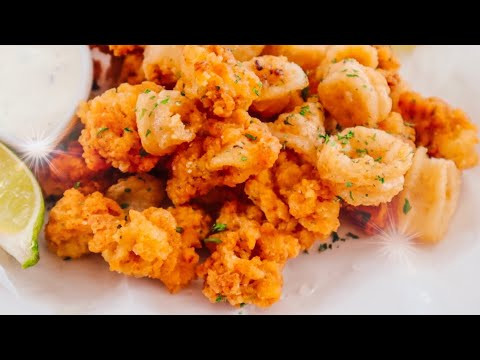 Calamares Fritos y Muy CRUJIENTES 💥 | Cuaresma | Fuego en La Cocina