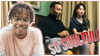 Reacting To John Legend X WENDY - Written In The Stars MV (Best Korean x American Collab?)