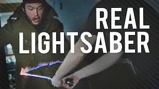Corridor Every Other Day - Real Lightsaber