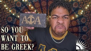 WHAT YOU NEED TO KNOW BEFORE JOINING A BLACK GREEK LETTER FRATERNITY OR SORORITY | NPHC | DIVINE 9