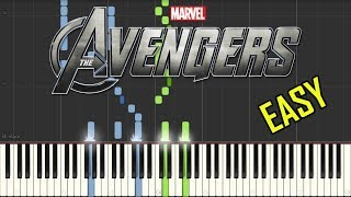 how to play avengers endgame theme on piano tutorial - TH-Clip