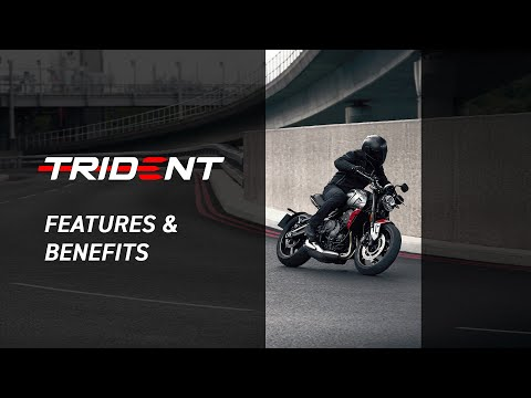 2021 Triumph Trident 660 in Goshen, New York - Video 1