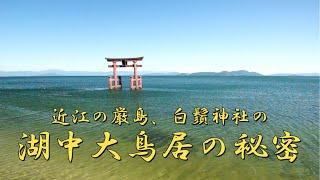 【びわ湖源流の郷・高島市より】近江の厳島 白鬚神社の湖中大鳥居 の秘密