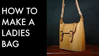 How To Make A Leather Bag - Tutorial And Pattern Download