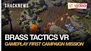Brass Tactics VR Gameplay - First Campaign Mission