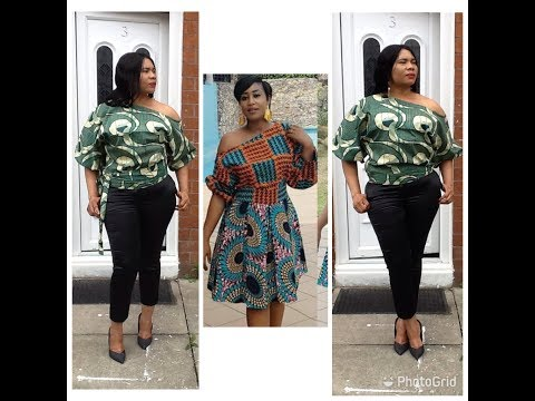 How To Make A Simple Top With Ankara Fabric