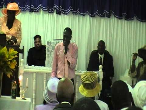 harry new life apostolic tabernacle machester  1 day convention Bishop D smith preaching