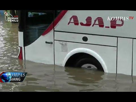 Banjir, Akses Jalan di Tangerang Terputus