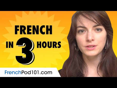 Learn French in 3 Hours: Basics of French Speaking for Beginners
