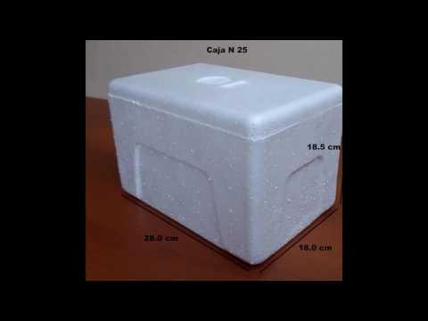 Cajas termicas de Tecnopor DISPOL PERU