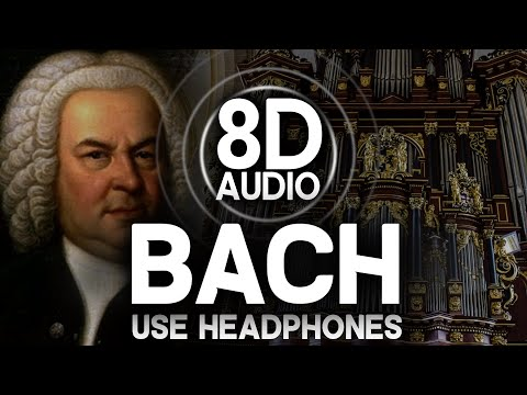 Bach - Toccata in D Minor (AUDIO 8D - USE HEADPHONES!)