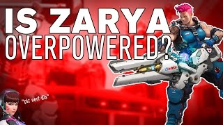 The SCIENCE! Behind Zarya in Overwatch