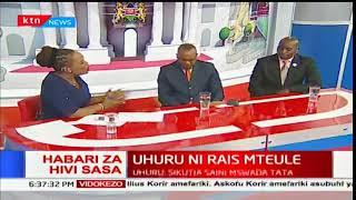 Rais Uhuru Kenyatta atangazwa rais mteule na mwenyekiti wa tume huru IEBC: Jukwaa la KTN