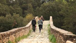 preview picture of video 'Medieval Bridge of Pedret, Catalonia, Spain - Unravel Travel TV'
