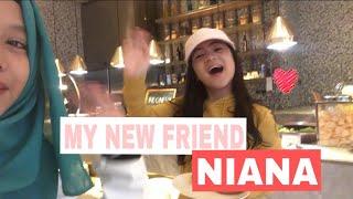 MY NEW FRIEND NIANA - FATIMVLOG17
