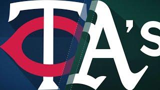 A's earn 2nd straight walk-off win vs. Twins: 9/22/18 - Video Youtube