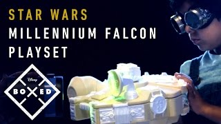 Star Wars Galactic Heroes Millennium Falcon | Disney | BOXED