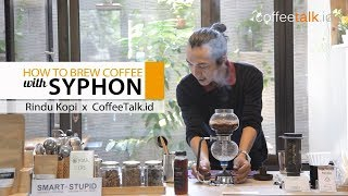 How to Make Syphon Coffee