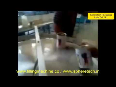 Ghee Bottle and Jar Filling Screw Capping Machine